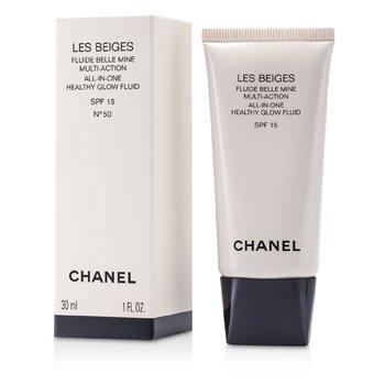 Chanel Podkład z ochronnym filtrem Les Beiges All In One Healthy Glow Fluid SPF 15 - No. 50  30ml/1oz