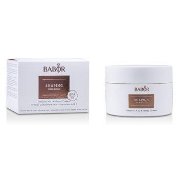 Babor Shaping For Body - Vitamin A.C.E. Body Cream - Krim Tubuh  200ml/6.7oz