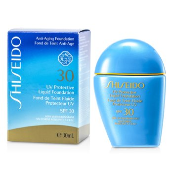 Shiseido UV Protective Liquid Foundation - # SP40 Medium Ivory  30ml/1oz