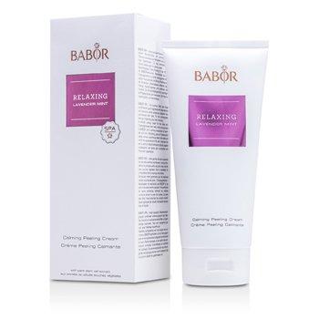 Babor Zklidňující peelingový krém s levandulí a mátou Relaxing Lavender Mint - Calming Peeling Cream  200ml/6.7oz