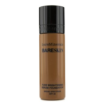 BareMinerals Rozjasňující make-up a sérum BareSkin Pure Brightening Serum Foundation SPF 20 - # 19 Bare Espresso  30ml/1oz