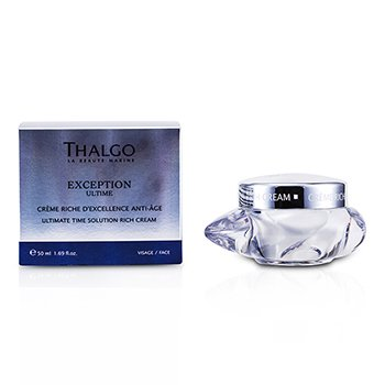 Thalgo Exception Ultime Ultimate Time Solution Crema Rica  50ml/1.69oz