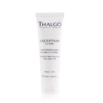 Thalgo Exception Ultime Ultimate Time Solution Crema de Ojos & Labios (Tamaño Salón)  50ml/1.69oz