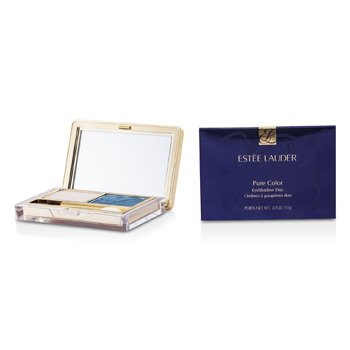 Estee Lauder New Pure Color Eyeshadow Duo - 07 Waves  3.5g/0.12oz