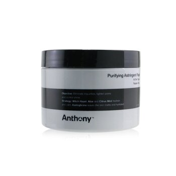 Anthony Logistics For Men Purifying Astringent Pads (For All Skin Types)  60pads