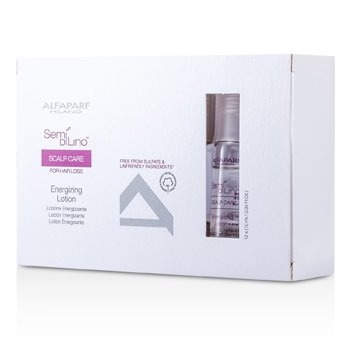 AlfaParf Semi Di Lino Scalp Care Energizing Lotion (For Hair Loss)  12x10ml/0.34oz