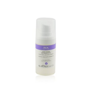 Ren Keep Young And Beautiful Crema Reafimante y Lift de Ojos  15ml/0.5oz