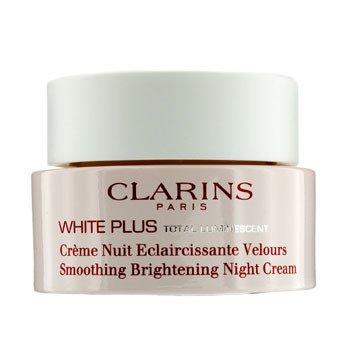 Clarins White Plus Total Luminescent Pürüzsüzleştiren Aydınlatıcı Gece Kremi  50ml/1.7oz