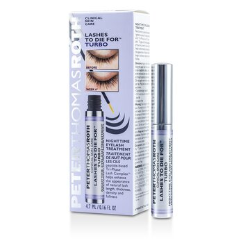 Peter Thomas Roth Lashes To Die For Turbo Tratamiento de Pestañas Para la Noche  4.7ml/0.16oz