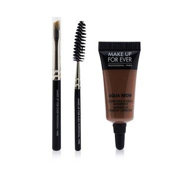 Make Up For Ever Aqua Brow Набір - #20 Світлий Коричневий  7ml/0.23oz