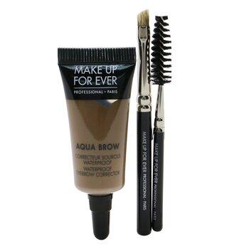 Make Up For Ever Kit de Cejas Aqua - #25 Ash  7ml/0.23oz