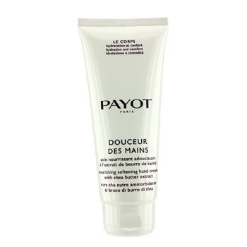 Payot Le Corps Douceur Des Mains Nourishing Softening Hand Cream With Shea Butter Extract  (Salon Size)  200ml/6.7oz