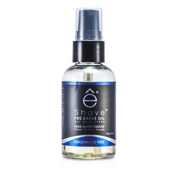 EShave Aceite Pre Afeitado - Libre de Fragrancia  60g/2oz