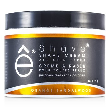 EShave Shave Cream - Orange Sandalwood  120g/4oz