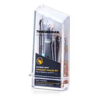 Tweezerman Mini Nail Rescue Set (Studio Collection)  4pcs