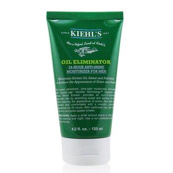 Kiehl's Men's Oil Eliminator Hidratante de 24-Horas Anti-Brillo  125ml/4.2oz