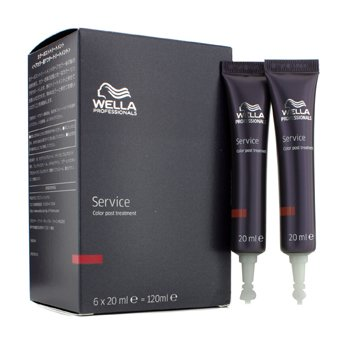 Wella Service Color Post Treatment  6x20ml/0.7oz