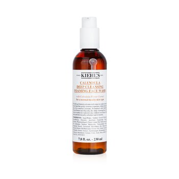 Kiehl's Calendula Deep Cleansing Foaming Face Wash - Pembersih Wajah  230ml/7.8oz