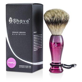 EShave Píncel Para Barbear Finest Badger Long - Purple  1pc