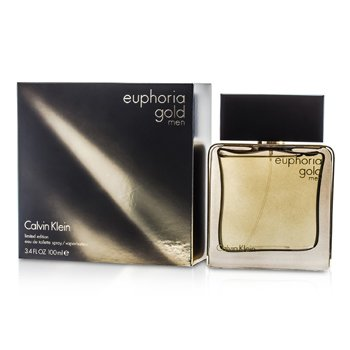 Calvin Klein Euphoria Gold Men Eau De Toilette Spray (Edici�n Limitada)  100ml/3.4oz