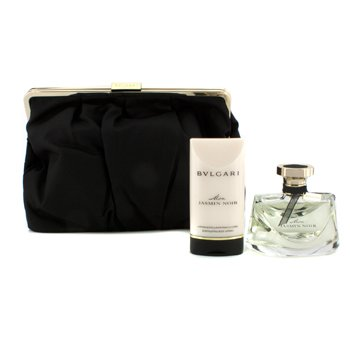 Bvlgari Mon Jasmin Noir Coffret: Eau De Parfum Spray 75ml/2.5oz + Scintillating Body Lotion 75ml/2.5oz + Beauty Pouch  2pcs+1pouch