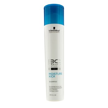 Schwarzkopf BC Moisture Kick Σαμπουάν - Για Κανονικά με Ξηρά Μαλλιά (Νέα Συσκευασία)  250ml/8.5oz
