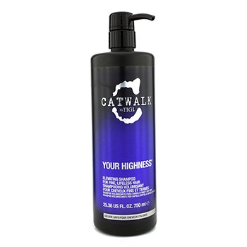 Tigi Shampoo Catwalk Your Highness Elevating - Cabelo Fino Sem Vida (Nova Emabalagem)  750ml/25.36oz