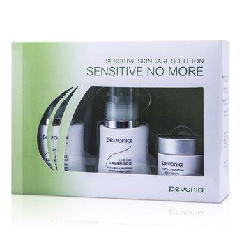 Pevonia Botanica Sensitive Skincare Solution Sensitive No More: Cleanser 50ml/1.7oz+Lotion 50ml/1.7oz+Cream 20ml/0.7oz  3pcs