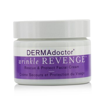 DERMAdoctor Creme Facial Wrinkle Revenge Rescue & Protect  50ml/1.7oz
