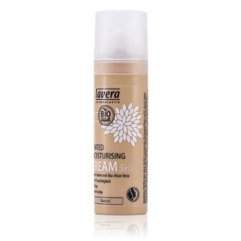 Lavera Hydratační tónovací krém 3 v 1 neutrální odstín Tinted Moisturising Cream 3in1 - Natural  30ml/1oz