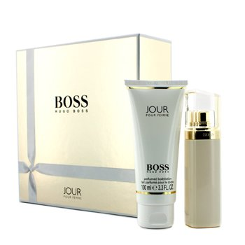 Hugo Boss Kit Boss Jour: Eau De Parfum Spray 50ml/1.6oz + Loção Corporal 100ml/3.3oz  2pcs
