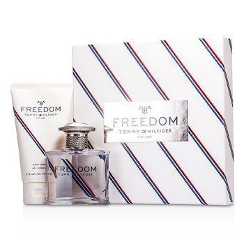 Tommy Hilfiger Tommy Freedom Coffret: Eau De Toilette Spray 50ml/1.75oz +Gel Jab�n Corporal 150ml/5oz  2pcs