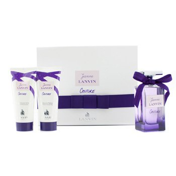 Lanvin Jeanne Lanvin Couture Coffret: Eau De Parfum Spray 100ml/3.4oz + Body Lotion 100ml/3.3oz + Shower Gel 100ml/3.3oz  3pcs