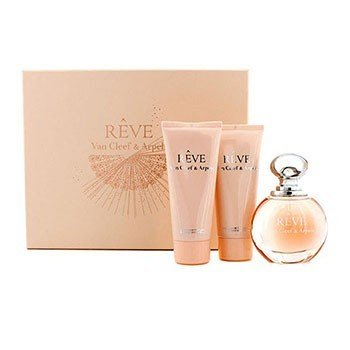 Van Cleef & Arpels Bộ Reve: Eau De Parfum Spray 100ml/3.3oz + Dưỡng Thể 100ml/3.3oz + Gel Tắm 100ml/3.3oz  3pcs