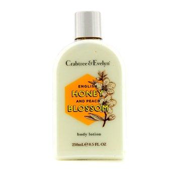 Crabtree & Evelyn English Honey & Peach Blossom Loci�n Corporal  250ml/8.5oz