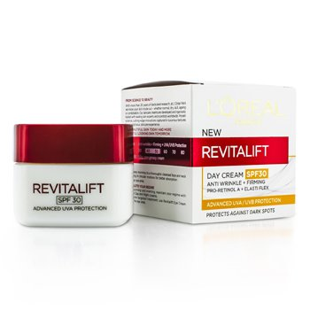 L'Oreal Revitalift Day SPF 30 (Anti rynke + oppstrammende)  50ml/1.7oz