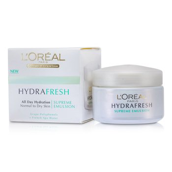 L'Oreal Hydrafresh All Day Hydration Emulsi�n Suprema  50ml/1.7oz