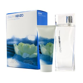 Kenzo L'Eau Par Kenzo Coffret: Eau De Toilette Spray 100ml/3.4oz + Gel Corporal Hidratante 75ml/2.5oz  2pcs