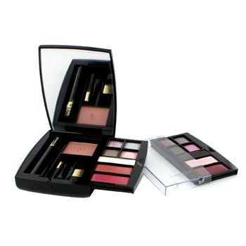 Lancome 24H A Paris Day To Night Paleta de Maquillaje (1xMini Virtuose Máscara, 1xRubor Sutil, 10xSombra de Ojos, 2xColor de Labios,...)