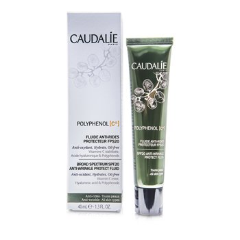 Caudalie Polyphenol C15 Anti-Wrinkle Protect Fluid SPF 20  40ml/1.3oz