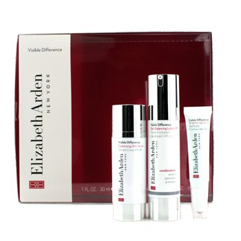 Elizabeth Arden Visible Difference Set: Balancing Lotion SPF15 50ml + Serum 30ml + Eye Gel 15ml  3pcs