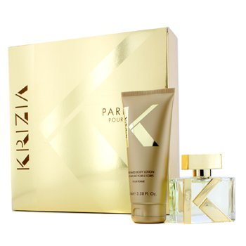 Krizia Pour Femme Coffret: Eau De Parfum Spray 30ml/1oz + Body Lotion 100ml/3.38oz  2pcs