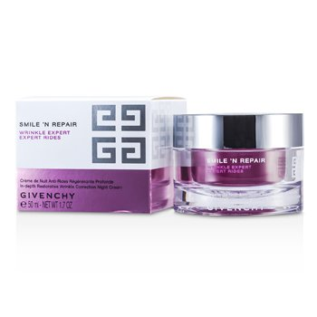 Givenchy Smile'N Repair Wrinkle Expert In-depth Restorative Wrinkle Correction Night Cream  50ml/1.7oz