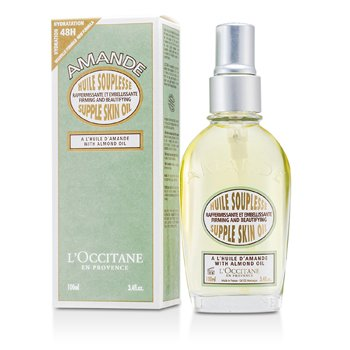 L'Occitane Almond Supple Skin Oil - Firming & Beautifying  100ml/3.4oz