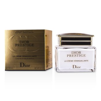 Christian Dior Demaquiante Facial Prestige La Creme Cleansing Creme-to-Oil for Face & Eyes  200ml/6.7oz
