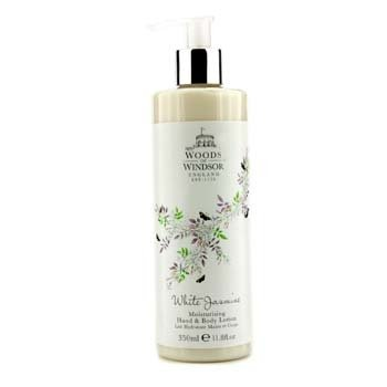 Woods Of Windsor White Jasmine Loci�n Hidratante de Manos & Cuerpo  350ml/11.8oz