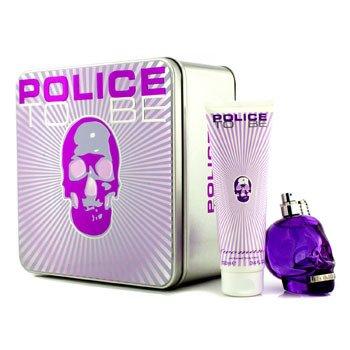 Police To Be Coffret: Eau De Parfum Spray 75ml/2.5oz + Loción Corporal 100ml/3.4oz  2pcs