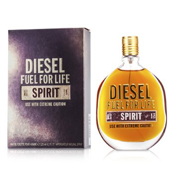 Diesel Fuel For Life Spirit Eau De Toilette Spray  125ml/4.2oz