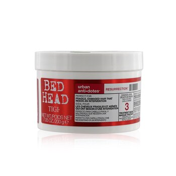 Tigi Máscara De Tratamento Bed Head Urban Anti+dotes Resurrection  200g/7.05oz