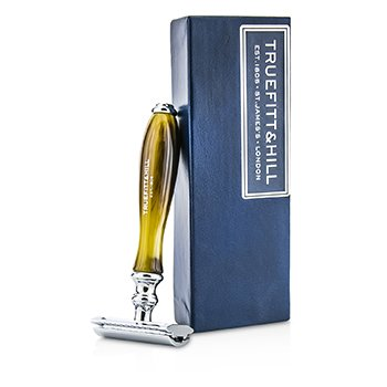 Truefitt & Hill Wellington Double Edged Razor - Horn  1pc